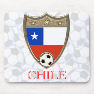 Chile Soccer Mouse Pad