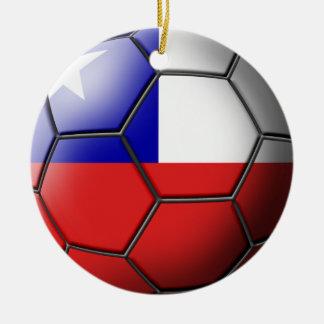 Chile Soccer Ornament