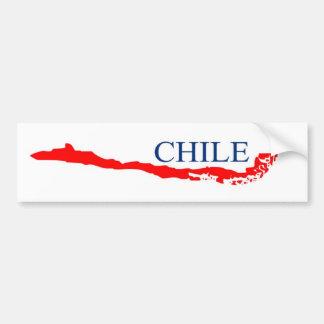 Chile sticker bumper sticker