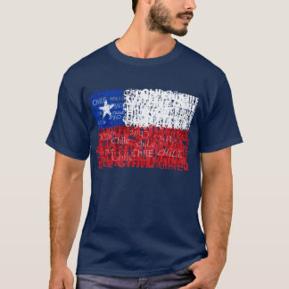 Chile Textual T-Shirt
