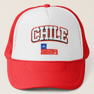 Chile Vintage Flag Trucker Hat
