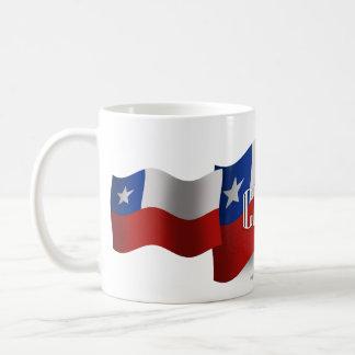 Chile Waving Flag Coffee Mug