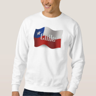 Chile Waving Flag Sweatshirt