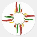 Chile Zia Stickers