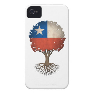 Chilean Flag Tree of Life Customizable Case-Mate iPhone 4 Case