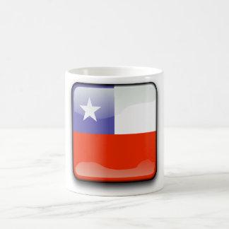 Chilean glossy flag magic mug