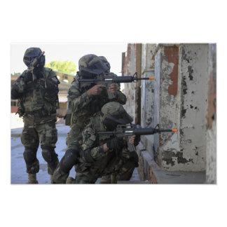 Chilean marines photo print