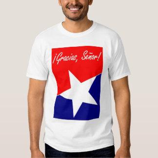 Chilean Miners Gracias, Señor! Psalm 95:4 SPANISH T Shirt