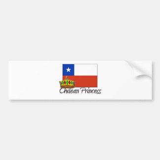 Chilean Princess Bumper Sticker