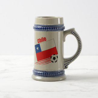 Chilean Soccer Team Beer Steins