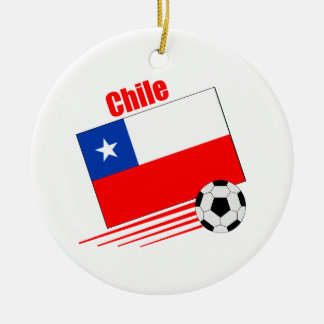 Chilean Soccer Team Christmas Ornament