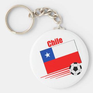 Chilean Soccer Team Key Ring