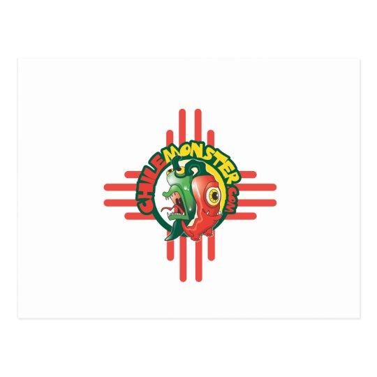 ChileMonster.com Logo Merchandise Postcard