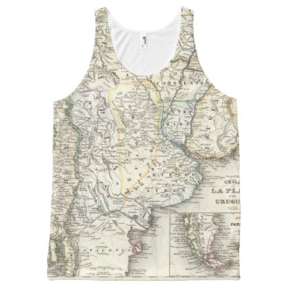 Chili, Argentina, South America All-Over Print Tank Top