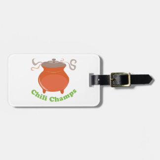 Chili Champs Tag For Luggage