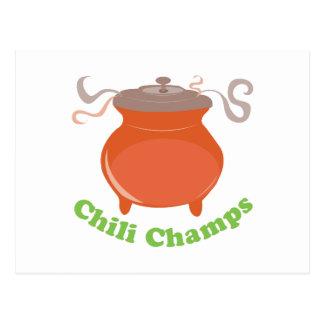 Chili Champs Postcard