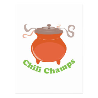 Chili Champs Postcard