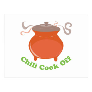 Chili Cook Off Postcard