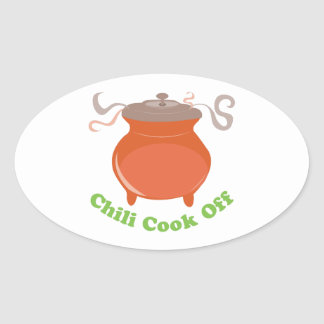Chili Cook Off Stickers