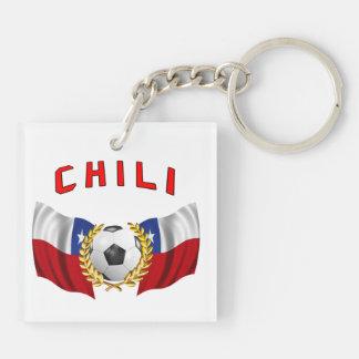 Chili football keychain