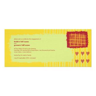 Chili Lemon Engagement Invitation