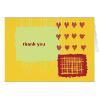 Chili Lemon Thank You Note Card