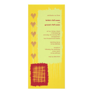 Chili Lemon Wedding Invitation 2