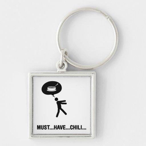 Chili Lover Keychain
