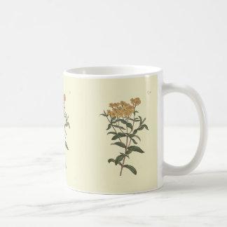 Chili Marigold Botanical Illustration Coffee Mug