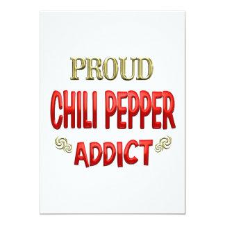 Chili Pepper Addict Invitations