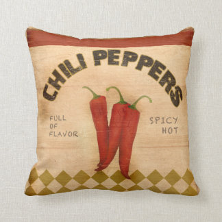 Chili Pepper For Sale Throw Pillow