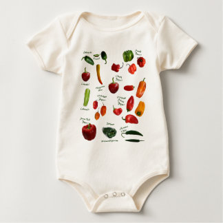 Chili Pepper ID Baby Bodysuit