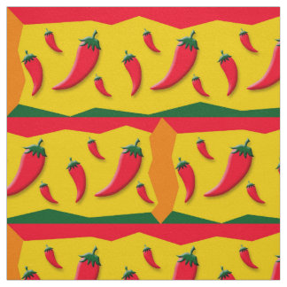 Chili Pepper Party Fabric