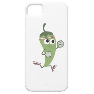 Chili Pepper Runner iPhone 5 Cover