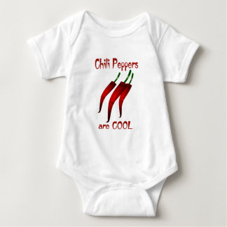 Chili Peppers are Cool Baby Bodysuit