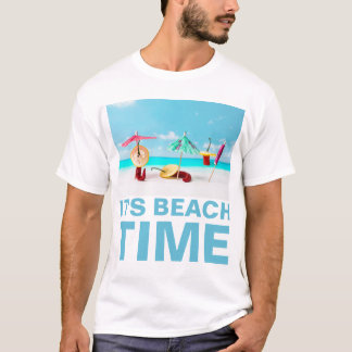 Chili Peppers Beach Time Funny customizable T-Shirt
