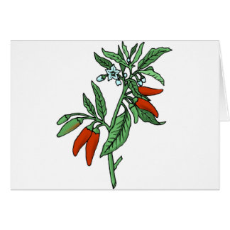 Chili Peppers Card