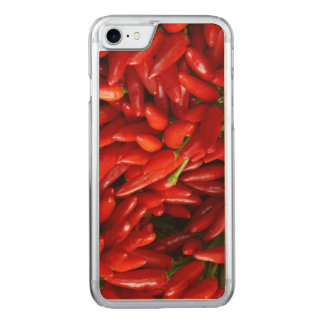 Chili Peppers Carved iPhone 7 Case