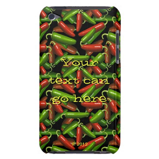 Chili Peppers Barely There iPod Cases