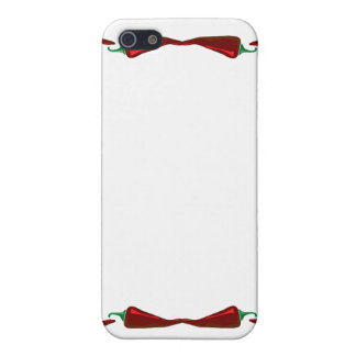 Chili peppers end to end frame graphic iPhone 5 case