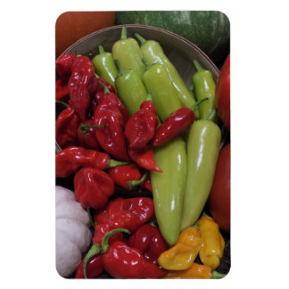 Chili Peppers Etc. Rectangular Photo Magnet