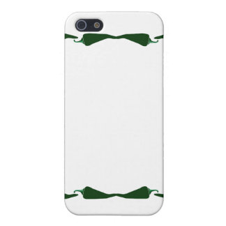 Chili peppers green end to end frame graphic.png case for iPhone 5/5S