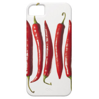 Chili Peppers in a Row Barely There iPhone 5 Case