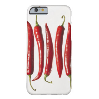Chili Peppers in a Row Barely There iPhone 6 Case