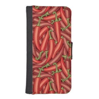 Chili Peppers iPhone SE/5/5s Wallet Case
