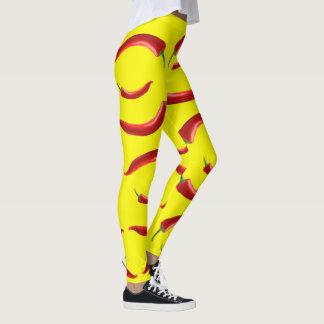 Chili peppers leggings