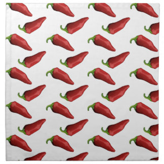 Chili peppers napkin