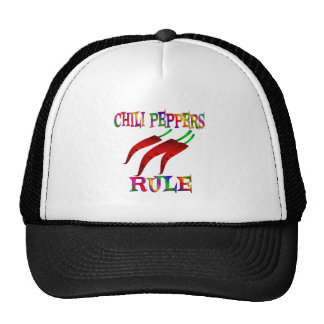Chili Peppers Rule Cap