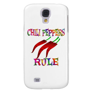 Chili Peppers Rule Galaxy S4 Case