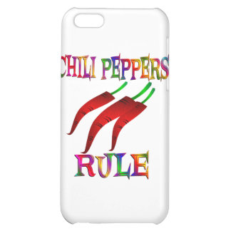 Chili Peppers Rule iPhone 5C Case